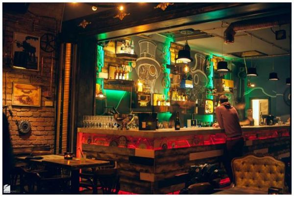 Revolutionary Design Idea Spectacular Steampunk Pub That