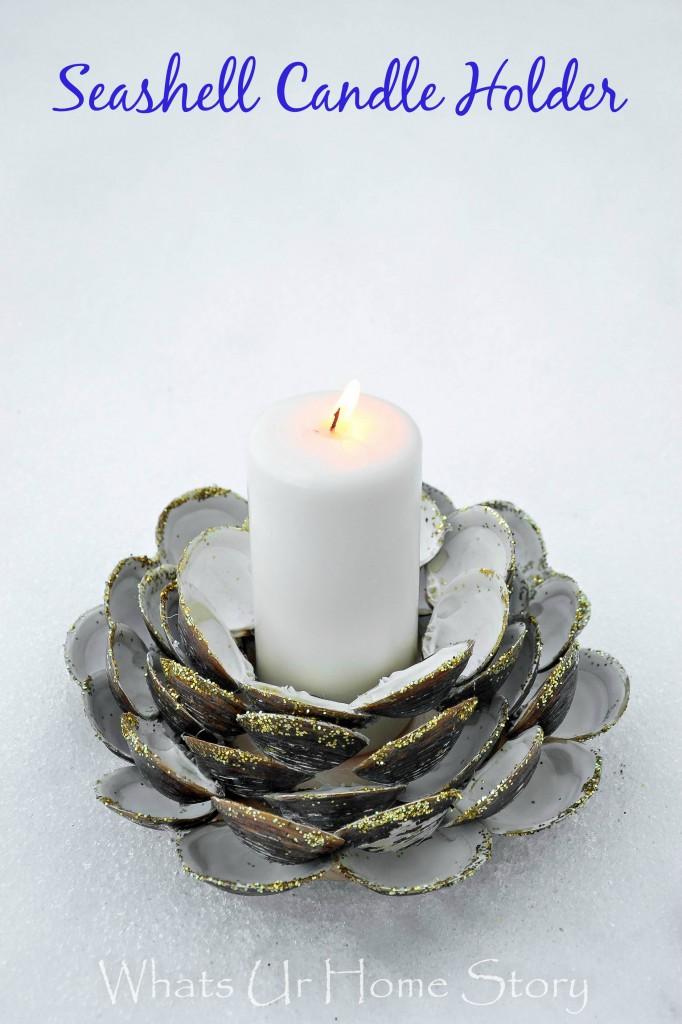 Seashell Candle Holder