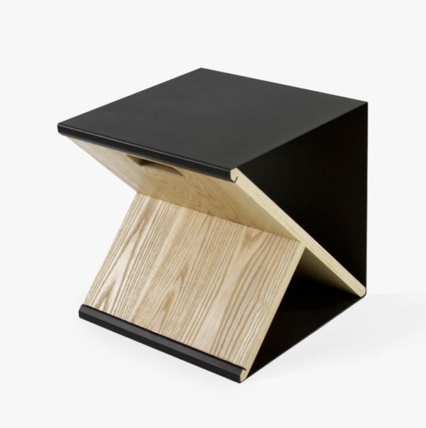 Amazing Minimalism And Functionality In A Unique Piece Of Furniture: Noon Studiou0027s  Steel Stool