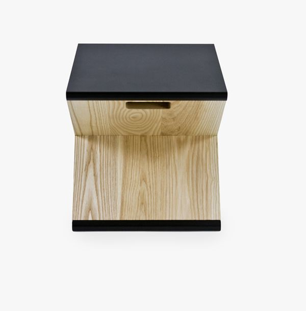 Charming Minimalism And Functionality In A Unique Piece Of Furniture: Noon Studiou0027s  Steel Stool