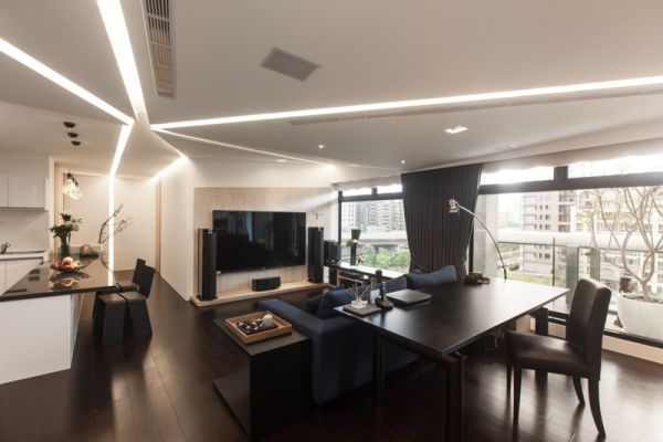 Modern house in taipei with a very open layout and an eye for Dep decoration interieur