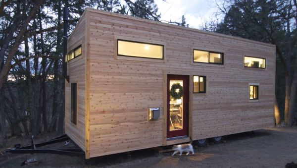 Tiny House On Wheels Featuring a Smart and Modern Design