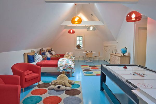 View in gallery : attic playroom ideas  - Aeropaca.Org