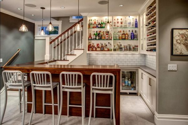 Turn Your Basement Into A Bar U2013 20 Inspiring Designs That Will Make You  Drool