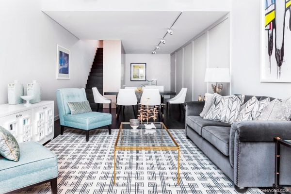 Geometric Area Rugs Make A Statement
