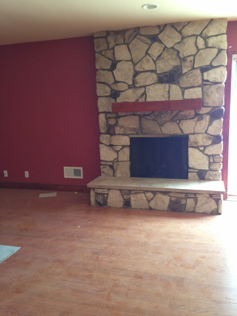 makeover cozy a designs stone progress s fireplace updating sypsie