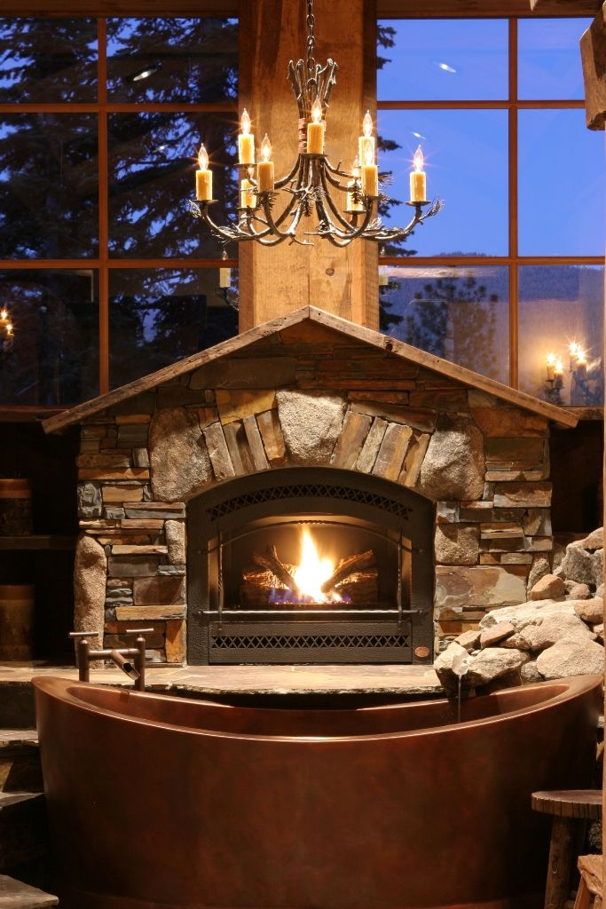 Rock For Fireplace 34 beautiful stone fireplaces that rock