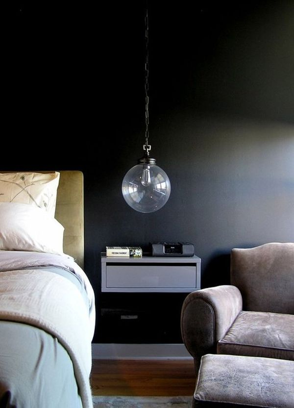 Dark amp Moody Walls For A Cozy Bedroom