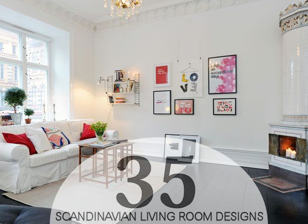 35 Light And Stylish Scandinavian Living Room Designs Part 83