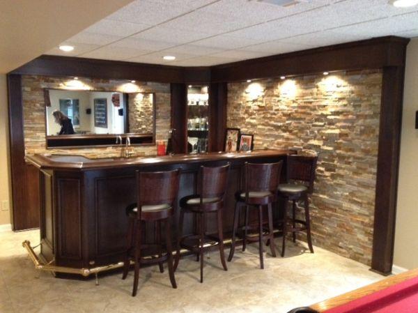 Basement Bar Ideas Using A Kitchen
