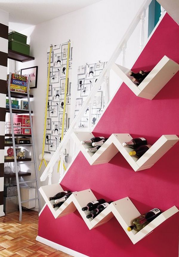 10 Practical And Interesting-Looking Wall Mounted Wine Racks