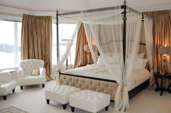 Bed With A Canopy give your bedroom a luxurious edge with a decorative canopy bed