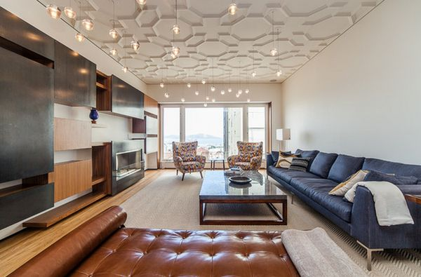 Stylish ceiling designs that can change the look of your home for Condo ceiling design