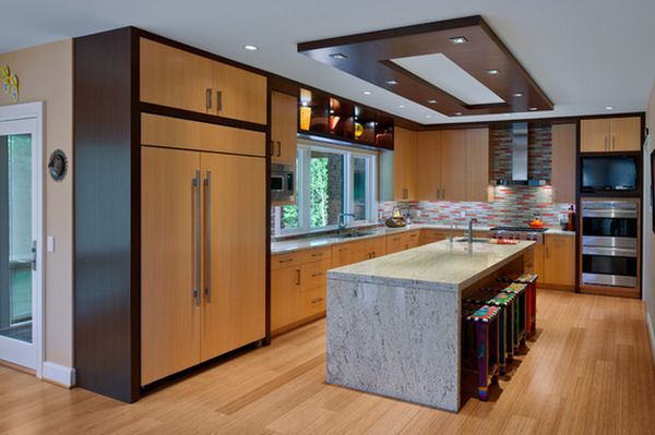 view in gallery - Down Ceiling Design For Kitchen