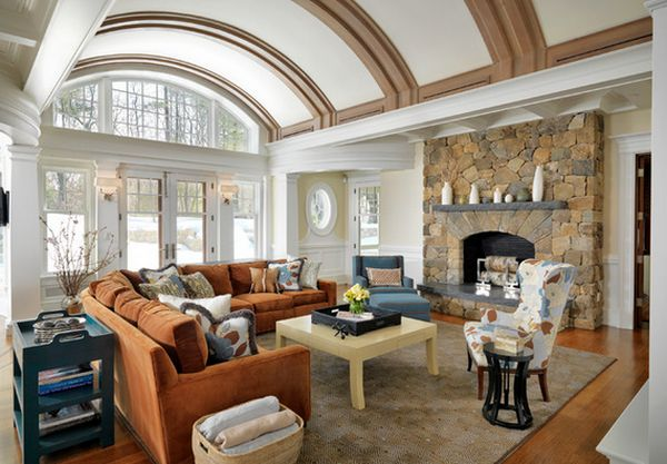 Vaulted Ceiling House