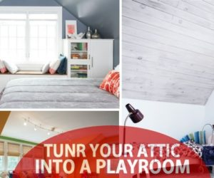 Turn The Attic Into A Perfect Play Area For The Kids – 25 Inspirational Design Ideas
