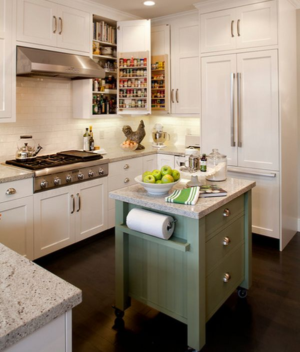 Portable Kitchen Islands They Make Reconfiguration Easy