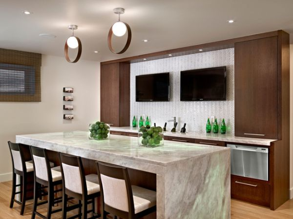 Turn Your Basement Into A Bar 20 Inspiring Designs That Will