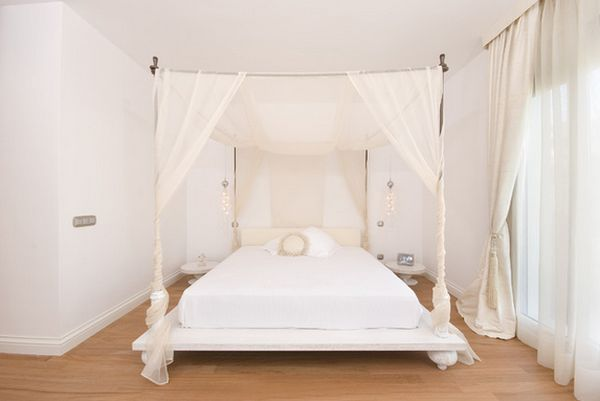 View in gallery & Give Your Bedroom A Luxurious Edge With a Decorative Canopy Bed