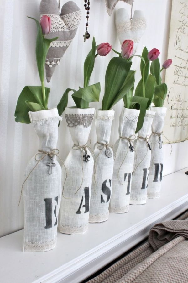 Make it Fresh! 15 Mantel Decorating Ideas for Spring