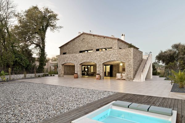 Modern Stone House In A Peaceful Spanish Village