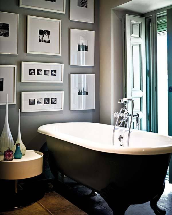 bathroom artwork.  art View in gallery How To Spice Up Your Bathroom D cor With Framed Wall Art