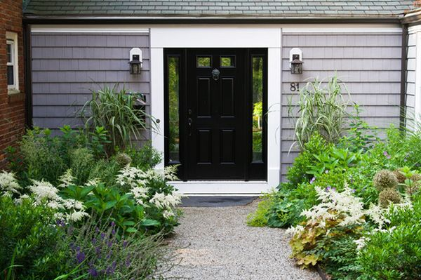 Stylish Black Front Doors – Change Your House\'s Curb Appeal