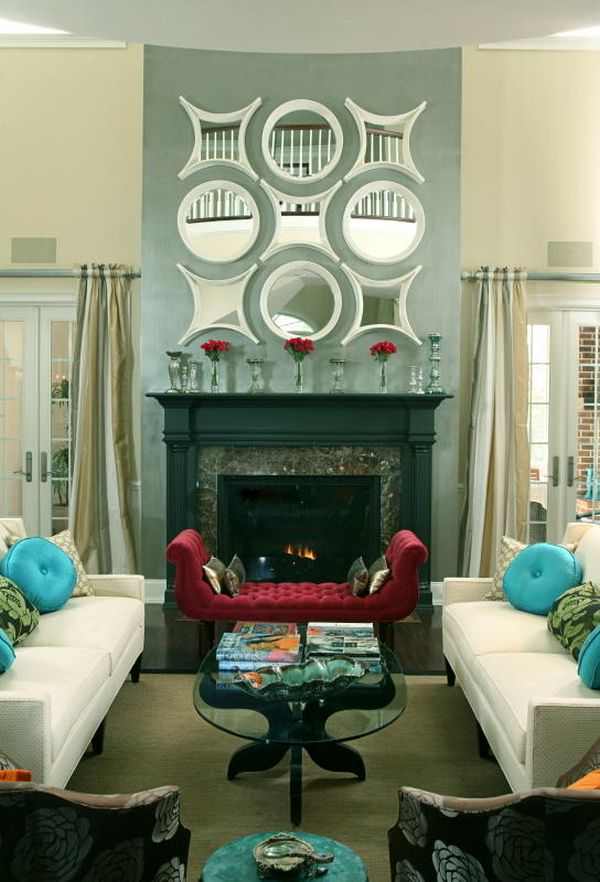 Decor Over Fireplace express yourself: unique & edgy fireplace decor