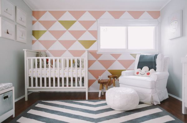 20 friendly and modern nursery room design ideas for Baby room decorating ideas uk