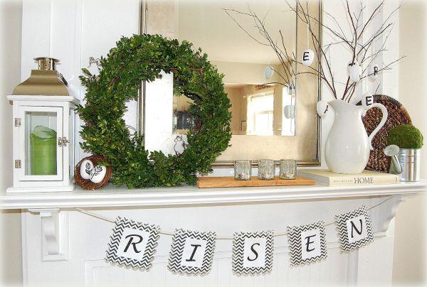Make It Fresh 15 Mantel Decorating Ideas For Spring