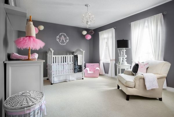 Baby Room For Girl Bring Up Baby In Style From Day One  30 Lovely Girl Nursery Room .