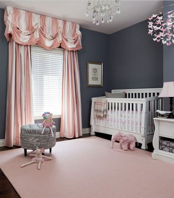 Cute Baby Girl Nursery Ideas: Bring Up Baby In Style From Day One