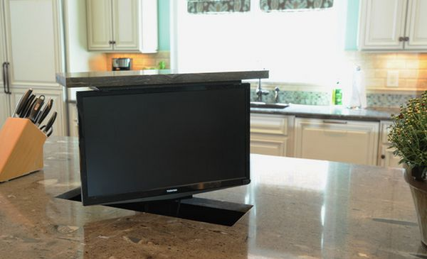 Small Tv For Kitchen Under The Counter