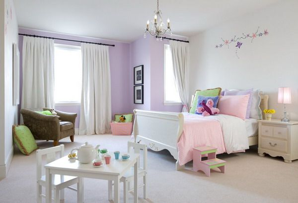 lavender accents for every girl 39 s space. Black Bedroom Furniture Sets. Home Design Ideas