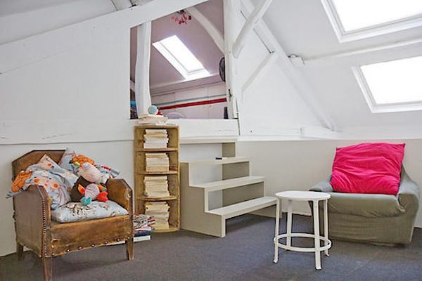 Turn The Attic Into A Perfect Play Area For The Kids   25 Inspirational  Design Ideas