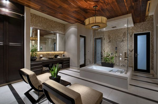 20 spa like bathrooms to clean your mind body and spirit for Luxury spa bathroom designs