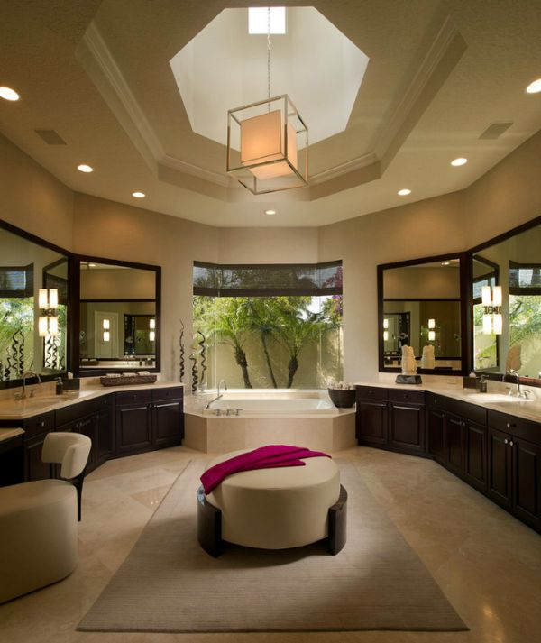 20 spa like bathrooms to clean your mind body and spirit for What do hotels use to clean bathrooms