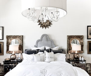 Add Dimensions And Perspective To Your Bedroom With Mirrored Bedside Tables Design Inspirations