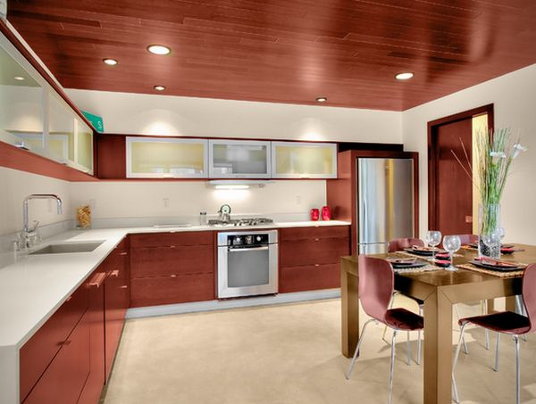 modern kitchen ceiling designs stylish ceiling designs that can change the look of your home 7668