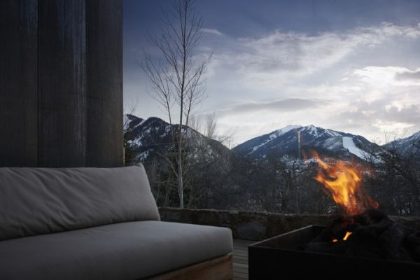 Reclaimed Wood Wall Living Room Ideas