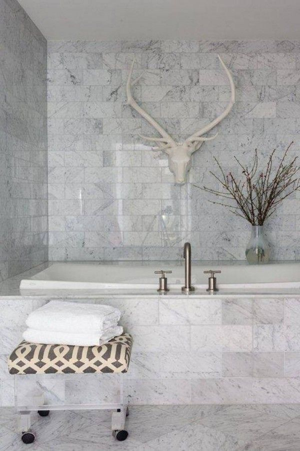 30 marble bathroom design ideas styling up your private daily - Marble Bathroom Decor