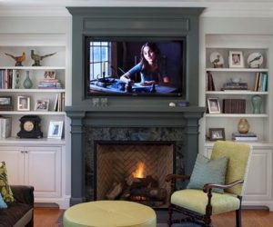 Wood Fireplace Mantels – A Cozy Focal Point Element For The Living Room