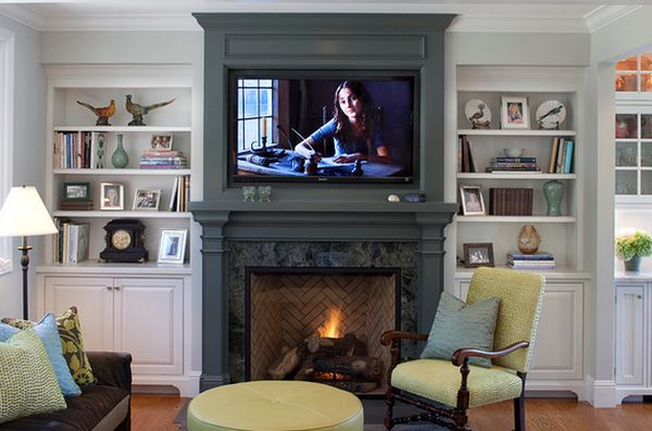 Wood Fireplace Mantels - A Cozy Focal Point Element For The Living ...