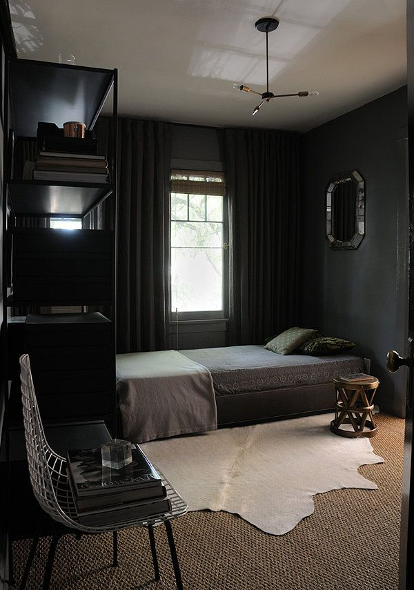 Dark & Moody Walls for a Cozy Bedroom