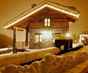 Charming Winter Chalet In One Of The Oldest Ski Areas In The Italian Alps