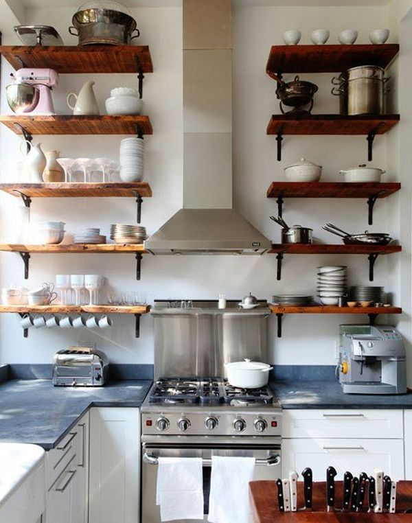 Superbe Reclaimed Wood Shelves For Eco Stylish Interiors