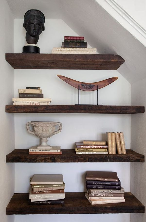 Reclaimed Wood Shelves for EcoStylish Interiors