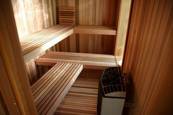 17 sauna and steam shower designs to improve your home and for Sauna plans