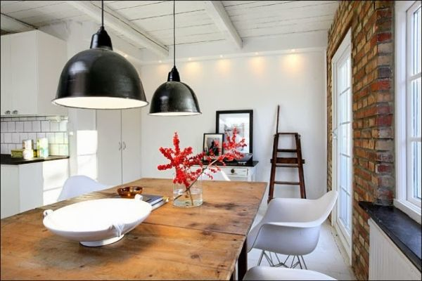 Scandinavian Industrial Design a perfect blend of classical and industrial design elements with