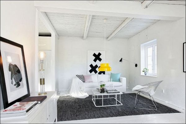 A perfect blend of classical and industrial design Industrial scandinavian bedroom